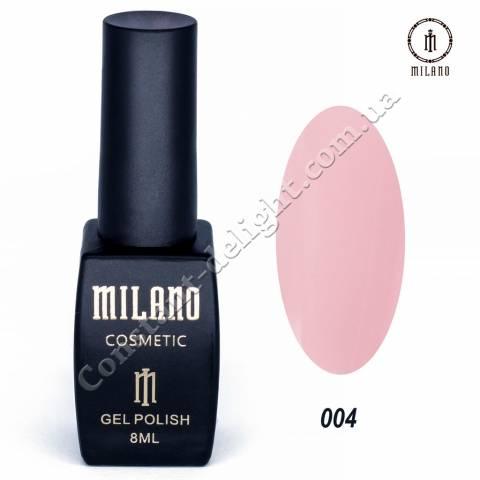 Гель-лак Milano №004