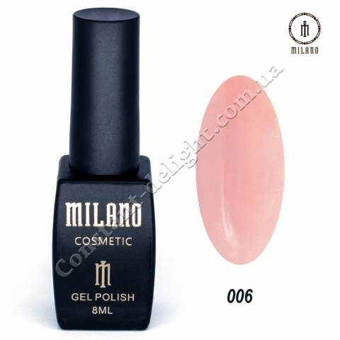 Гель-лак Milano №006