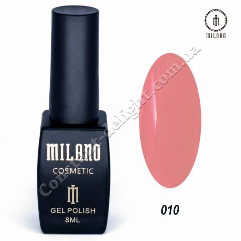 Гель-лак Milano №010