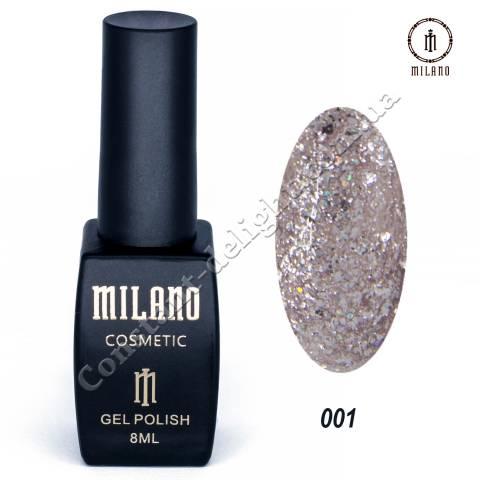 Гель-лак Milano Shine Collection №01