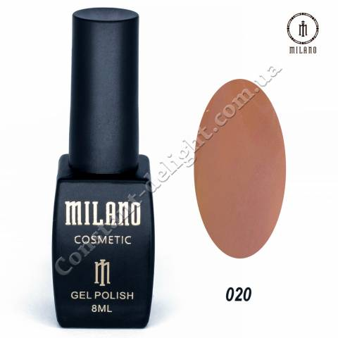 Гель-лак Milano №020