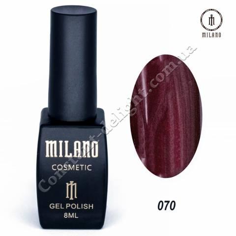 Гель-лак Milano №070