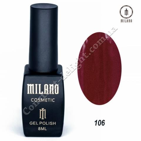 Гель-лак Milano №106