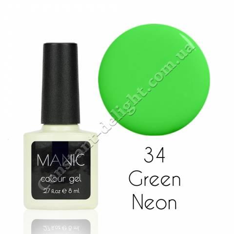 Гель-лак для ногтей MANIC №34