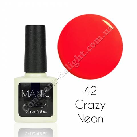 Гель-лак для ногтей MANIC №42