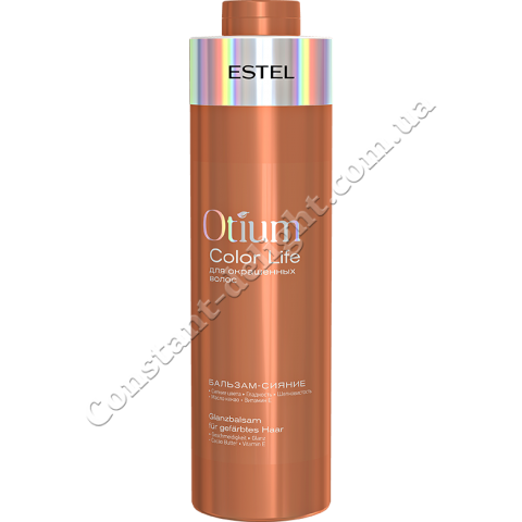 Бальзам-сияние для окрашенных волос Estel OTIUM COLOR LIFE 1 L