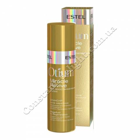Элексир для волос Сила кератина Estel OTIUM MIRACLE REVIVE 100 ml