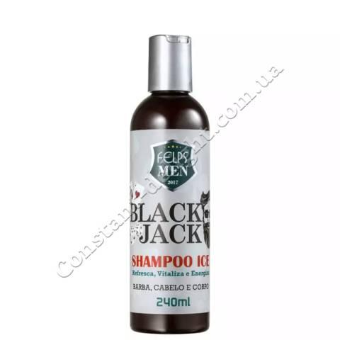 FELPS MEN SHAMPOO ICE BLACK JACK Шампунь для мужчин 240 ml