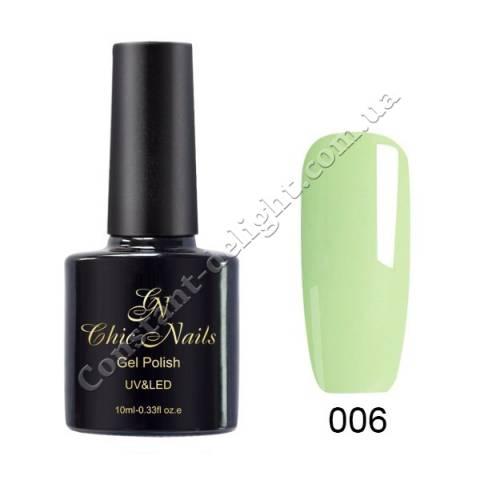 Гель-лак Chic Nails Пастель 10 мл. №006