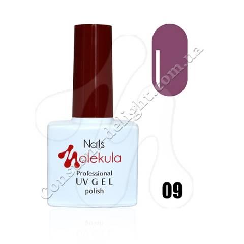 Гель-лак Nails Molekula 11 мл. №09