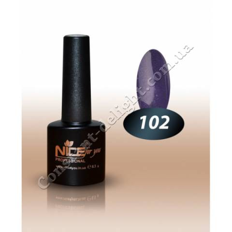 Гель-лак Nice for You 8.5 мл. №102