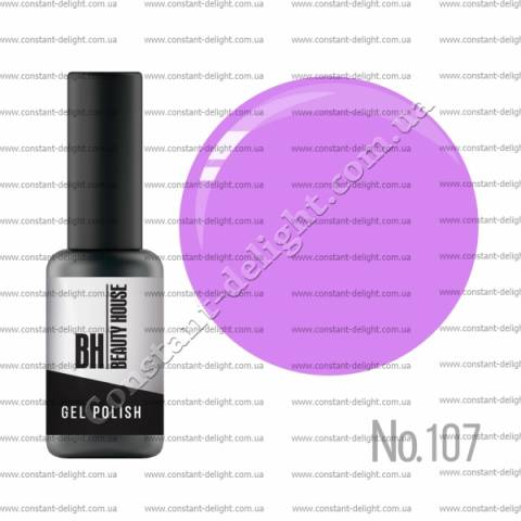 Гель-лак BH Beauty House 8 мл.№107