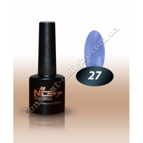 Гель-лак Nice for You 8.5 мл. №27
