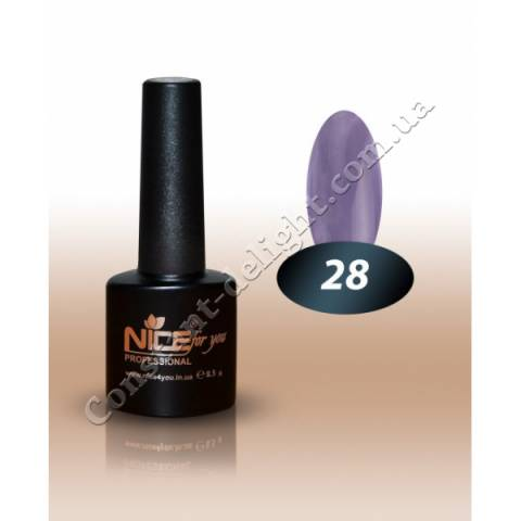 Гель-лак Nice for You 8.5 мл. №28