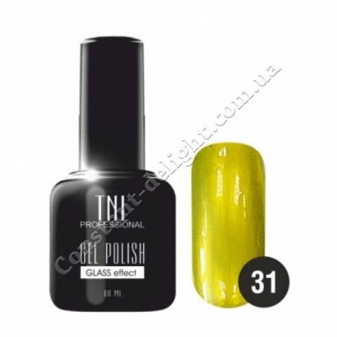 """Гель-лак """"TNL Glass effect"""" (10 мл) №31 лимонный"""