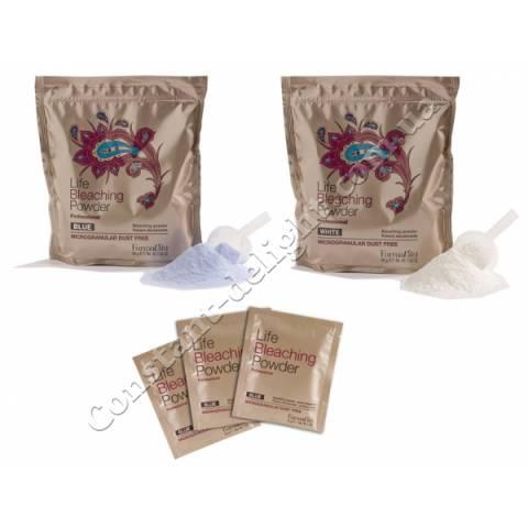Обесцвечивающая пудра Farmavita Life Bleaching Powder Blue 30 g