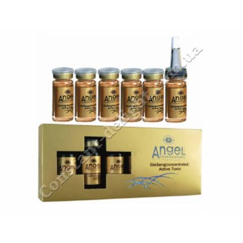 Активный тоник с женьшенем (концентрированный) Angel Professional 5х10 ml