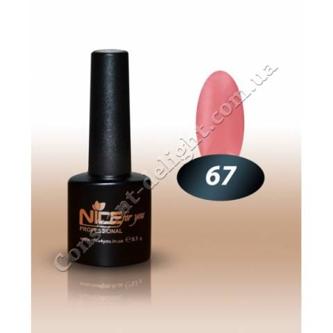 Гель-лак Nice for You 8.5 мл. №67