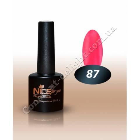 Гель-лак Nice for You 8.5 мл. №87