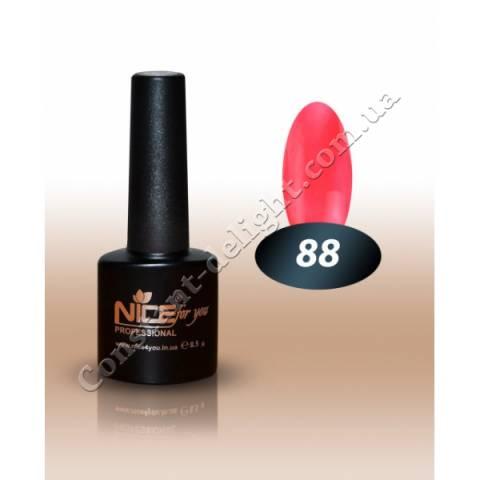 Гель-лак Nice for You 8.5 мл. №88