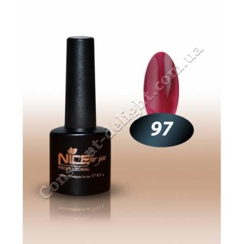 Гель-лак Nice for You 8.5 мл. №97