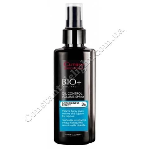 Спрей-объем для жирных волос Cutrin BIO+ Oil Control Volume Spray 150 ml