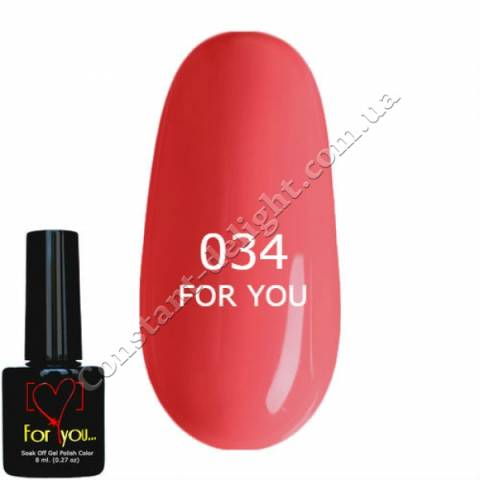 Гель-лак For You 8 мл. №0034
