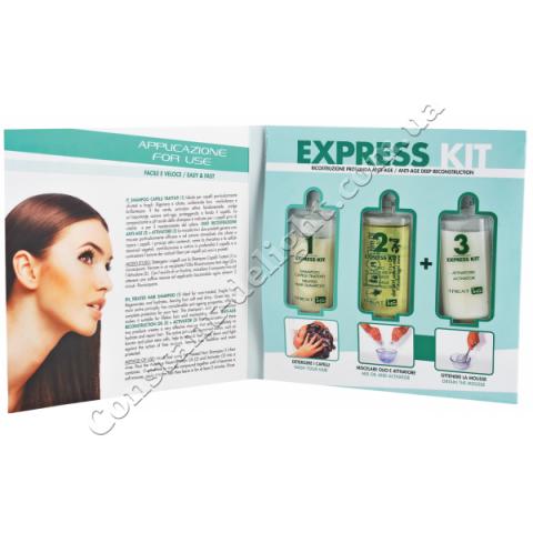 Набор для шокового восстановления волос ING Professional Treat-ING Express Kit Tower