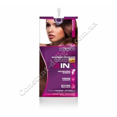 Тонирующая маска 3 в 1 ING Professional Color-ING Coloring Mask Triple Function, Шоколад  25 ml