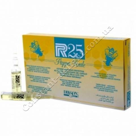 Лосьон против выпадения и восстановление волос Dikson P.R.25 PAPPA REALE 10x10 ml