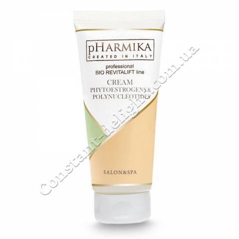 Крем для лица с фитоэстрогенами и полинуклеотидами pHarmica Cream Phytoestrogens & Polynukleotides 200 ml