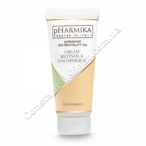 Крем для лица с ретинолом и токоферолом pHarmica Cream Retinol & Tocopherol 200 ml