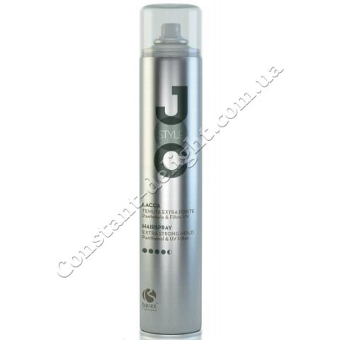 Лак для волос сильной фиксации с UV-фильтром и D-пантенолом Barex Joc Extra Strong Hairspray 500 ml