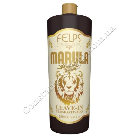 Несмываемый кондиционер для сухих и пористых волос Felps Marula Leave-In Termoativado 250 ml