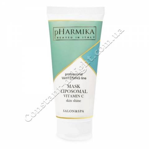 Маска для лица Сияние Кожи с липосомальной витамином С pHarmica Mask Liposomal Vitamin C Skin Shine 200 ml