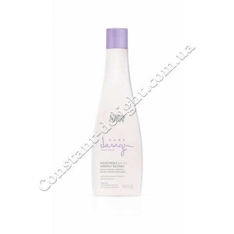 Маска для осветленных и мелированных волос Shot Care Design Simply Blond And Meches Hair Mask 250 ml