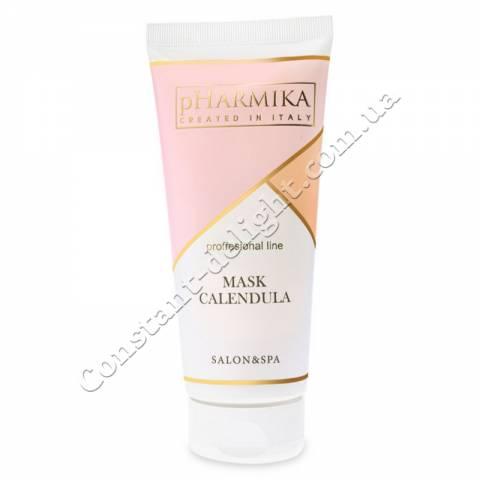 Маска для лица успокаивающая с календулой pHarmika Mask Calendula 200 ml