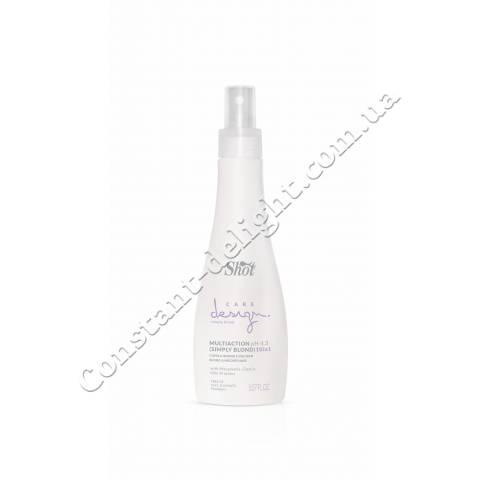 Многофункциональный эликсир для осветленных и мелированных волос Shot Care Design Simply Blond Multiaction 10 in 1, 150 ml