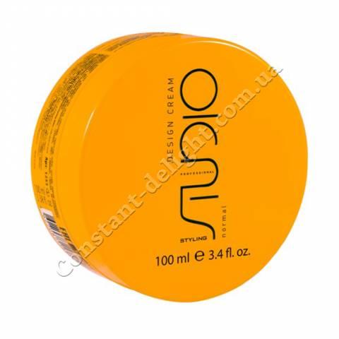 Моделирующие сливки для укладки волос нормальной фиксации Kapous Professional Studio Desighn Cream 100 ml