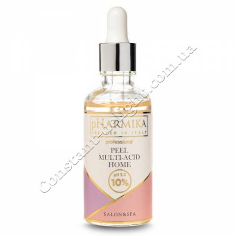 Мультикислотный пилинг для лица домашний 10% pHarmika Peel Multi-Acid Home 10% рН 3.5, 50 ml