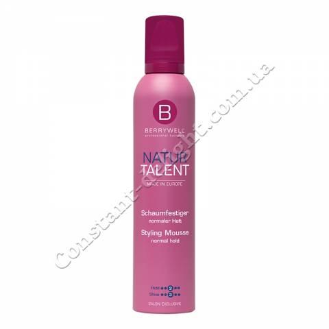 Мусс для укладки волос нормальной фиксации Berrywell Styling Mousse Normal Hold 301 ml