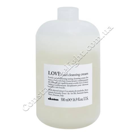 Очищающий крем для усиления завитка волос Davines Curl Cleasing Cream 500 ml