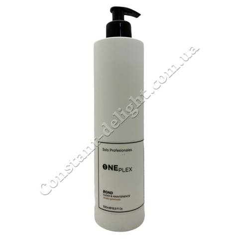 Очищающий шампунь для волос KV-1 One Plex Clean & Maintenence Shampoo 500 ml