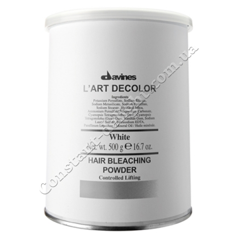 Осветляющая пудра для волос Davines L'Art Decolor system Powder 500 g