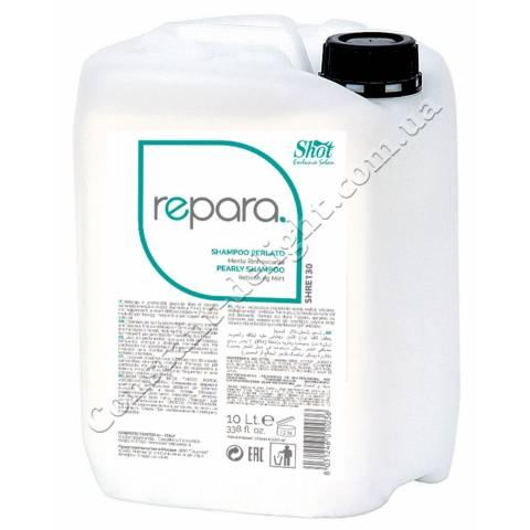 Перламутровый шампунь освежающая мята Shot Meant Shampoo 10000 ml