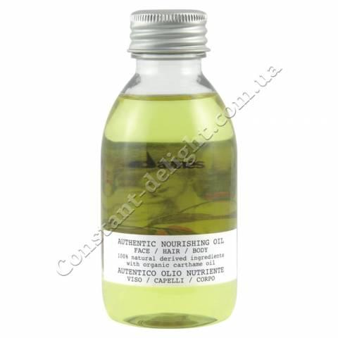 Питательное масло для лица, волос и тела Davines Authentic Nourishing Oil 140 ml