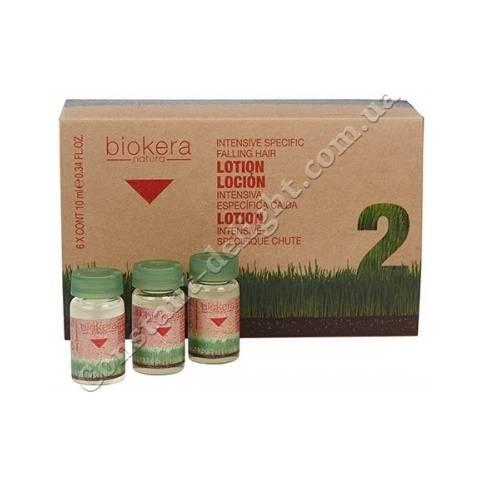 Salerm Locion anticaida Intensiva интенсивный лосьон в унидозах 6x10 ml