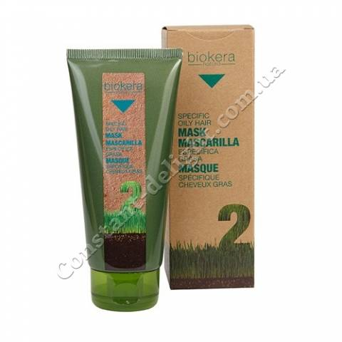 Salerm Mascarilla especifica grasa Маска для жирной кожи головы 200 ml