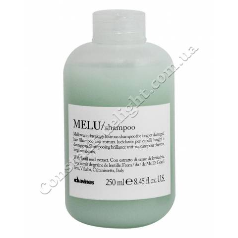 Шампунь для ломких волос Davines Melu  Anti-Rottura Lucidante Shampoo 250 ml