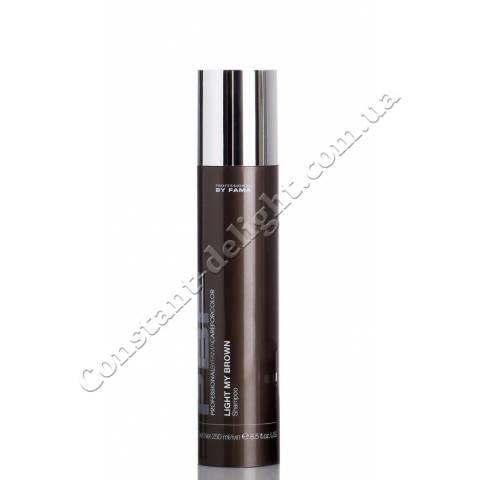 Шампунь для поддержания коричневого оттенка волос Professional By Fama Light My Brown Shampoo 250 ml